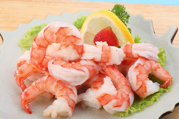 Cooked Peeled Deveined Tail-off Vannamei Shrimp