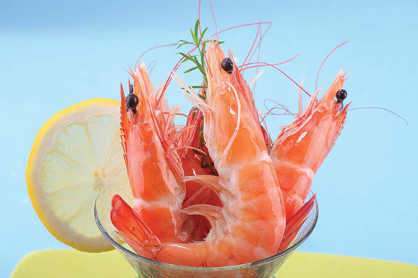 Cooked Head-on Shell-on Vannamei Shrimp